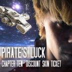 Chapter 10~Pirate's Luck Discount Skin Ticket