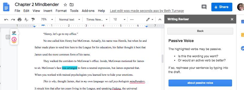 Using SAS Writing Reviser